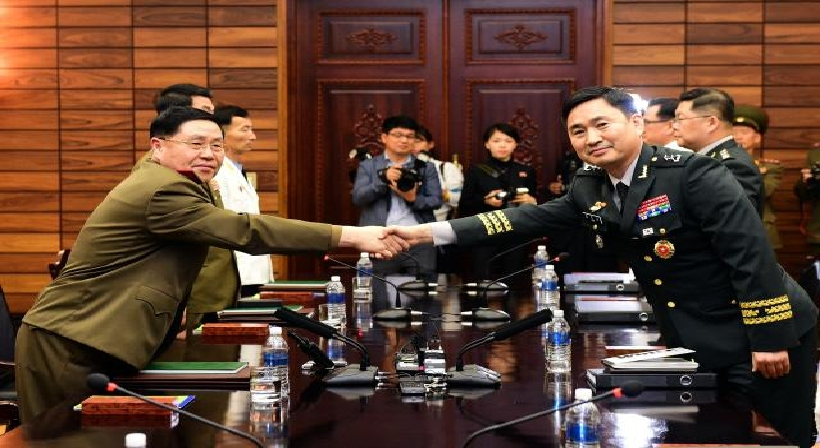 Joint Press Release from the Inter-Korean Military Generals' Talks