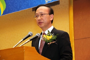 Minister Hyun delivers a lecture on the 20th anniversary of German unification