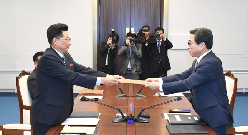 Agreement from the Inter-Korean athletics talks