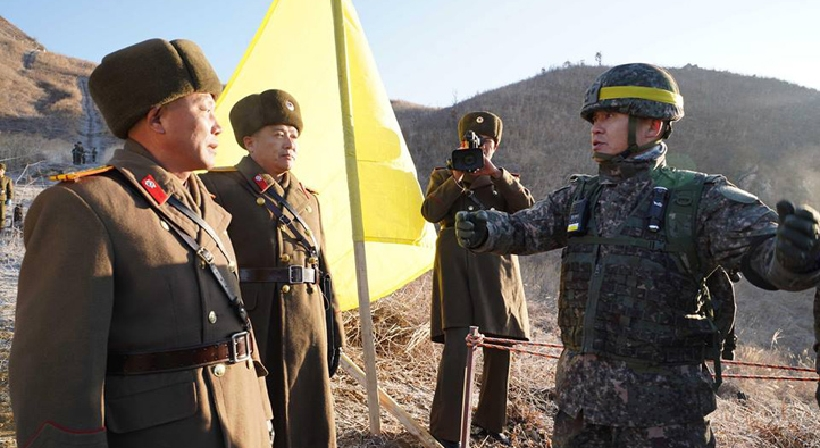 South and North Korea complete field verification of the withdrawal of GPs