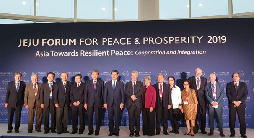 Unification Minister Kim participates in the 14th Jeju Forum for Peace and Prosperity