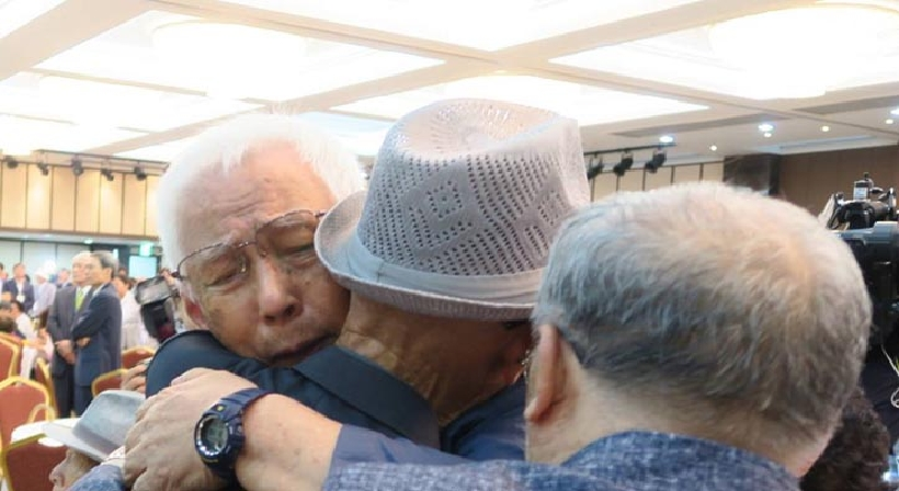 Second round of reunions of separated families in 2018 Day 1: Relieving decades – of deep sorrow