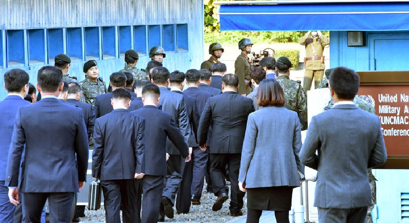 South and North Korea hold the fifth inter-Korean high-level talks