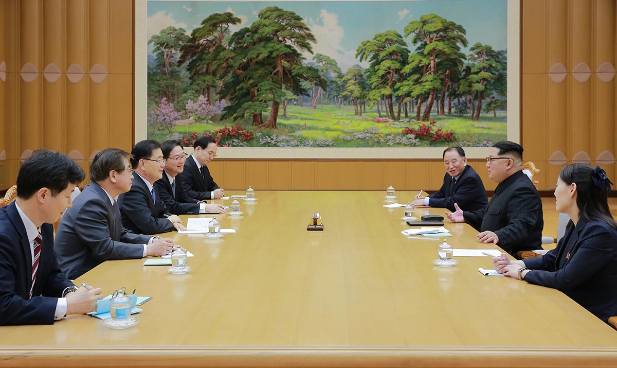 South, North Korea agree to hold 3rd summit in April